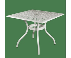 Стол квадратный Lotus Square Table SD1044T (белый)