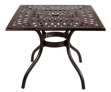 Стол квадратный Lotus Square Table SD1044T (бронза)